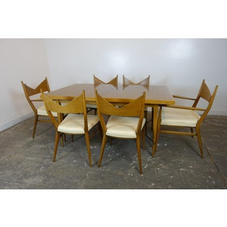 1950s Mid Century Modern Paul McCobb Dining Set - 7 Pieces Preview