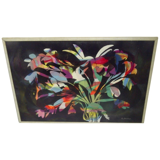Multicolor Floral Painting by Aldrich Jenkins - Image 1 of 7