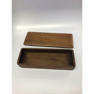 Teak Serving Tray With Lid Preview