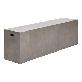 "Una 60"" Bench, Dark Grey For Sale"
