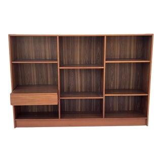 Scandinavian Modern Teak Bookcase by Jesper For Sale