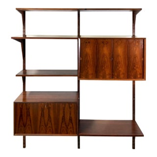 Poul Cadovious Royal Cado Wall Shelf Unit in Palisander For Sale