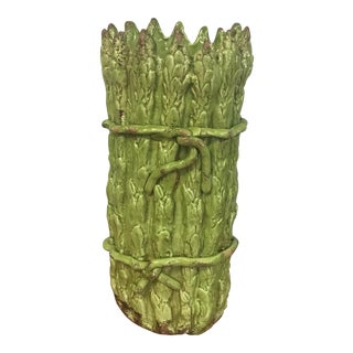 Vietri Italian Pottery Asparagus Vase