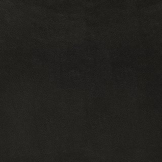 Schumacher Canyon Leather Wallpaper in Raven For Sale