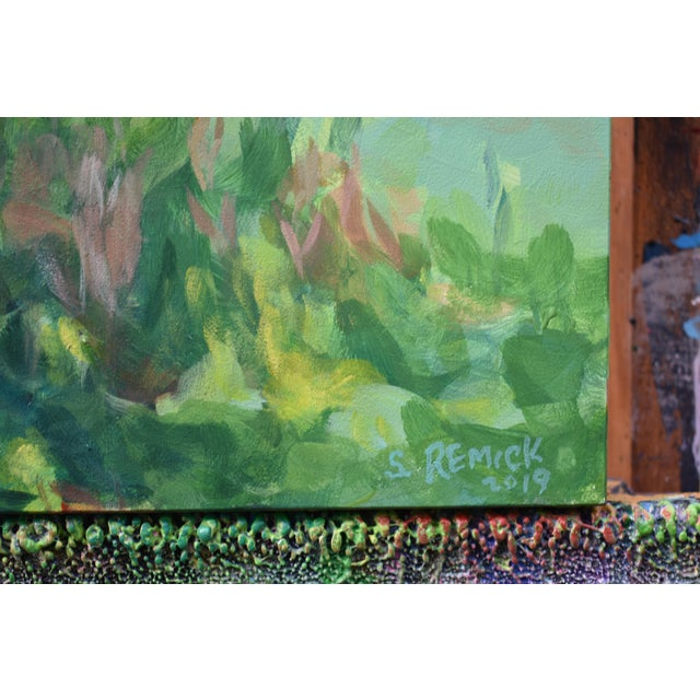 """2010s Stephen Remick """"If Trees Could Talk"""" Contemporary Plein Air Painting For Sale - Image 5 of 7"""