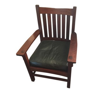 1906 Stickley Mission Armchair