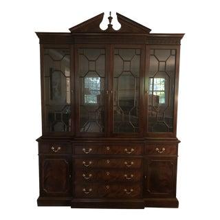 Vintage Stickley China Cabinet For Sale