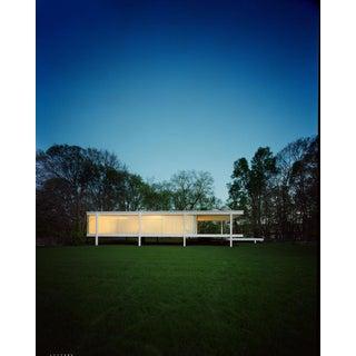 FRANCOIS DISCHINGER Mies van der Rohe Farnsworth House, Dusk For Sale