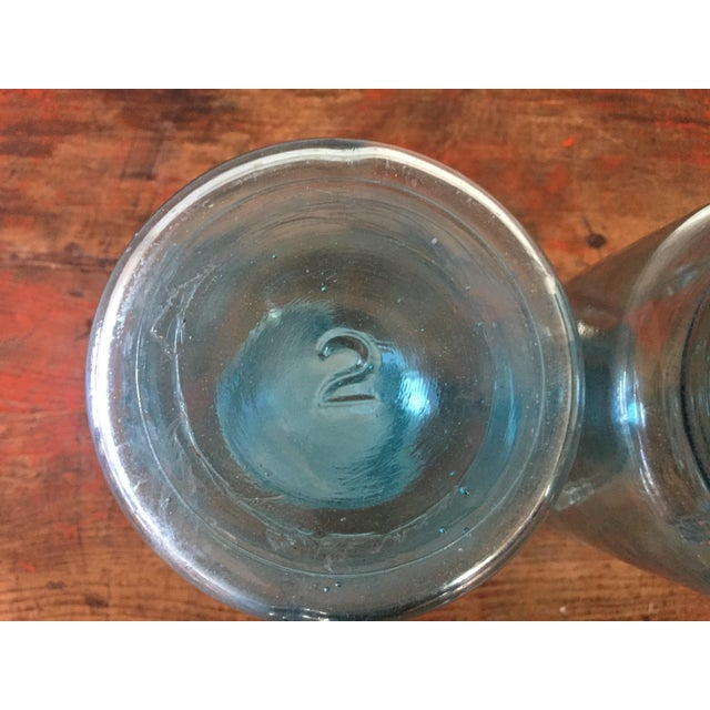 Vintage Blue Ball Mason Jars - A Pair - Image 10 of 11