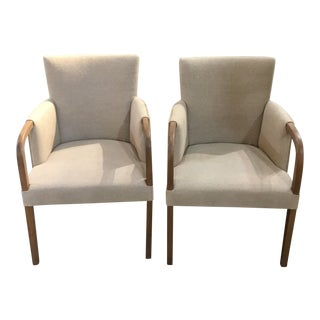 Modern Occasional Chairs- A Pair For Sale