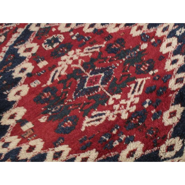Textile Antique Bergama Rug For Sale - Image 7 of 9