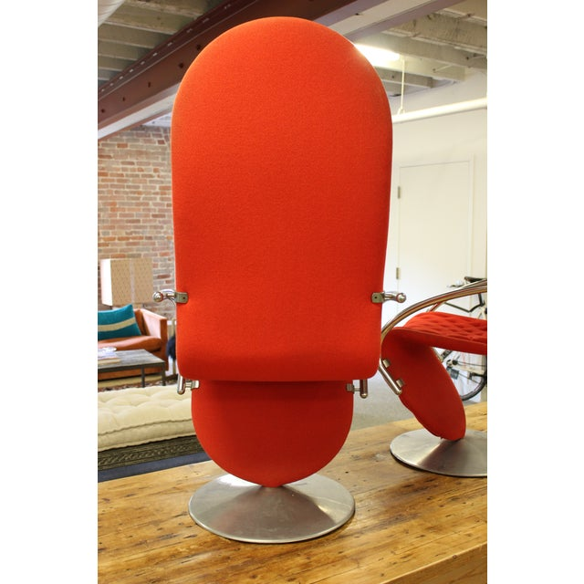 Verner Panton 1-2-3 System Lounge Chairs - a Pair - Image 6 of 9