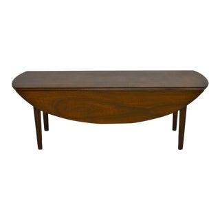 Kittinger Solid Mahogany Drop Leaf Coffee Table