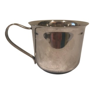 Silverplate Baby Cup