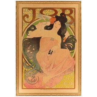 "Late 19th Century Alphonse Mucha Original ""Job"" Poster For Sale"