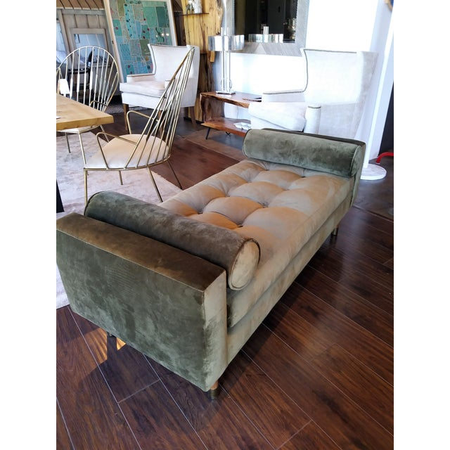 Jaxon Home Fontaine Tufted Day Bed For Sale In Los Angeles - Image 6 of 6