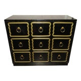 Image of 1950s Vintage Dorothy Draper Espana Style Chest of Drawers For Sale