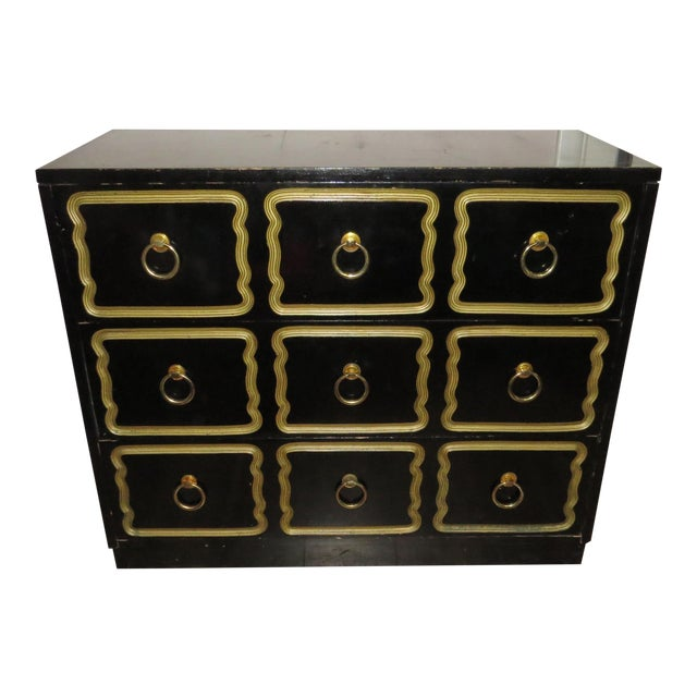 1950s Vintage Dorothy Draper Espana Style Chest of Drawers For Sale