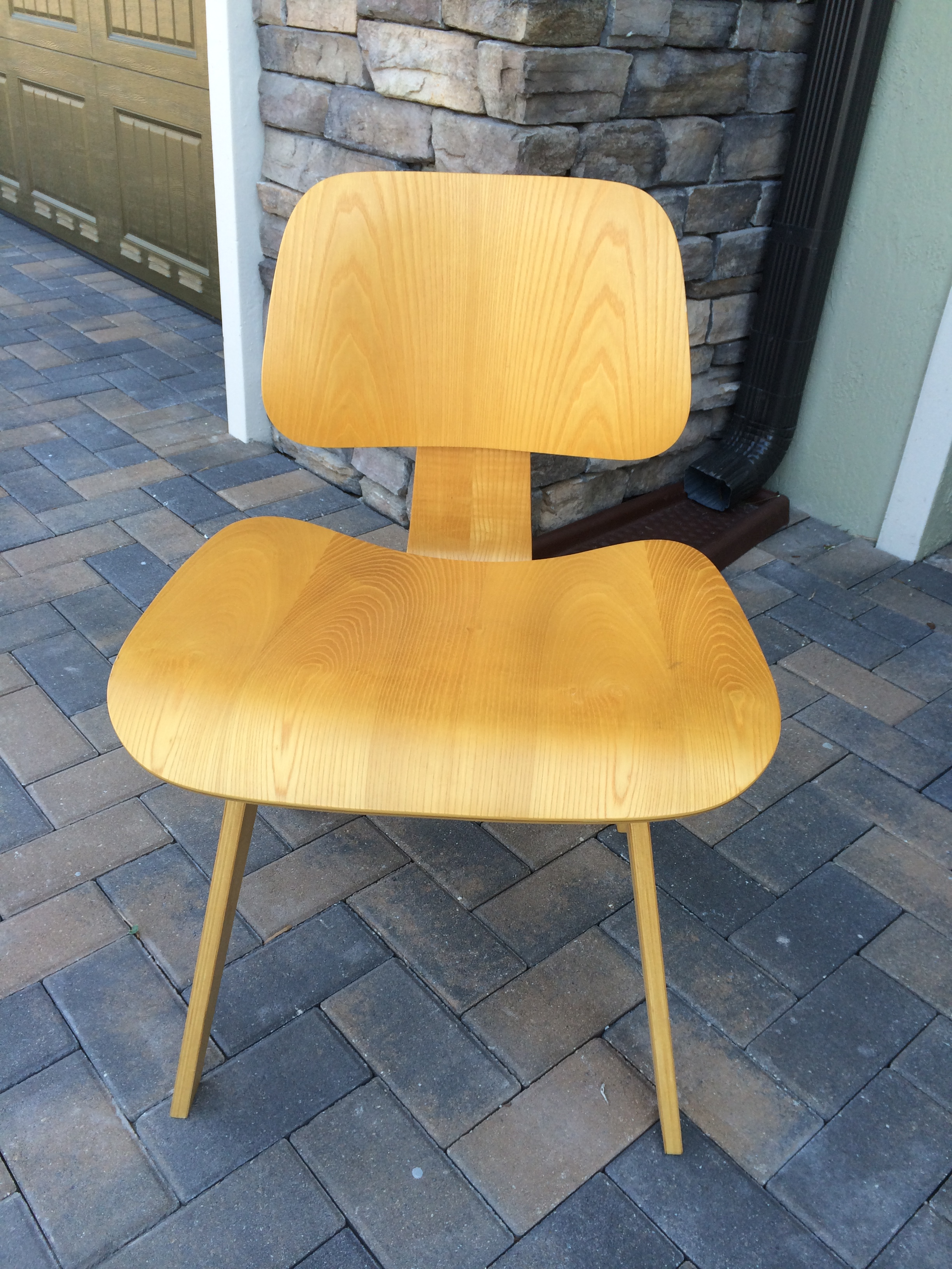 These Four Authentic Herman Miller Eames Chairs Are In