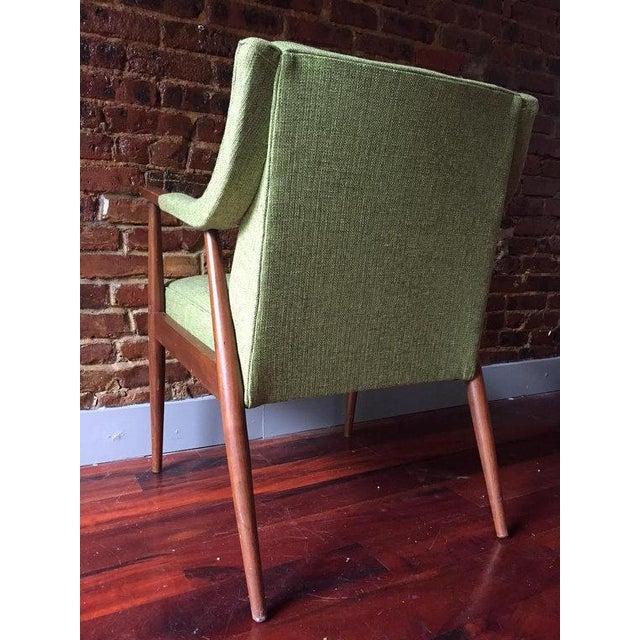 Mid-Century Danish Modern Oak Accent Chair - Image 2 of 5