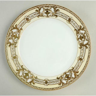 1920s Noritake Encrusted Gold Urn Dinner Plates - Set of 6 Preview