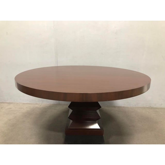 Beautiful, barely used straight grain dining table. Purchased for house in Seattle and couldn't use after moving. In...