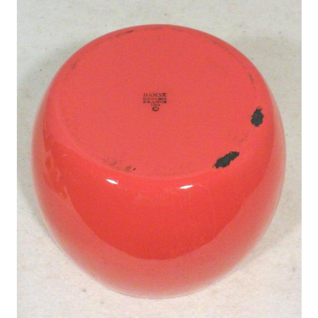 Dansk IHQ Red Enamel Bowl - Image 6 of 7