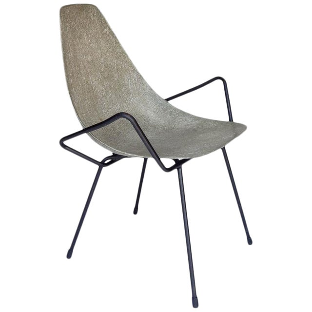 Unusual Sculptural Fiberglass Chair - Image 1 of 8