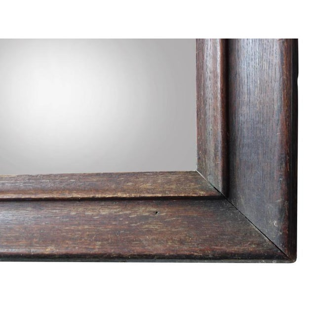 Wood Early 20th Century Full Length Mirror For Sale - Image 7 of 7