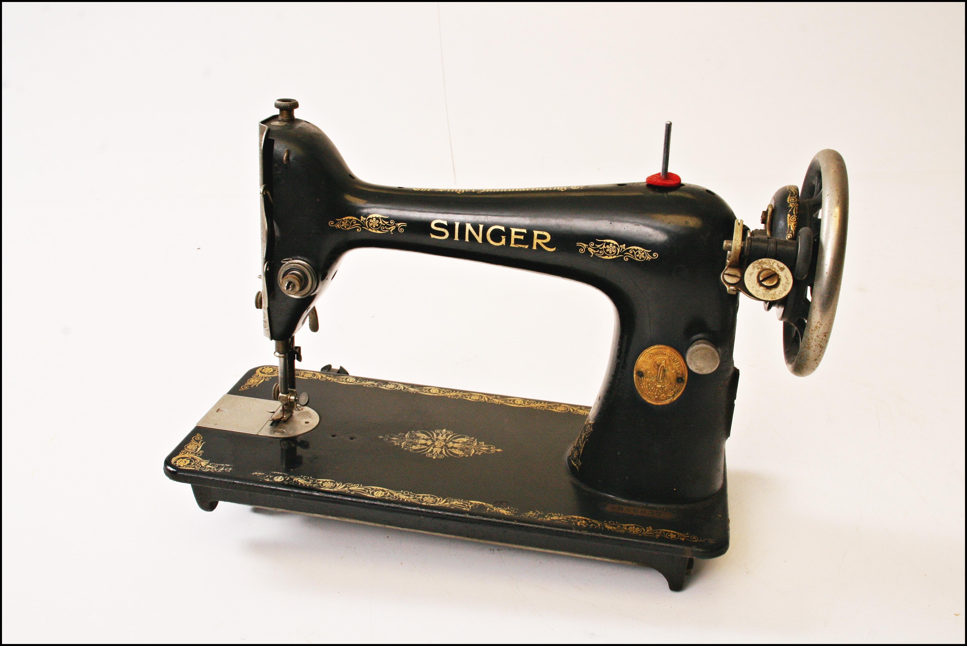 Antique Singer Sewing Machine Repair Manual Photos And 99 K Threading Diagram