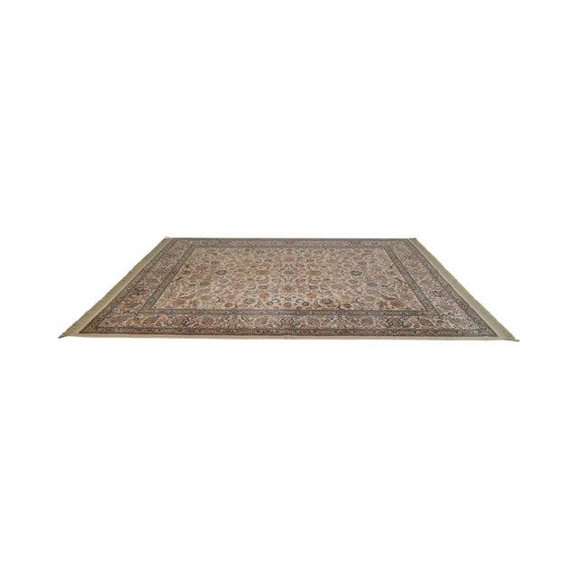 """Karastan 8'8"""" X 10'6"""" Tabriz Room Size Rug Carpet For Sale - Image 12 of 12"""
