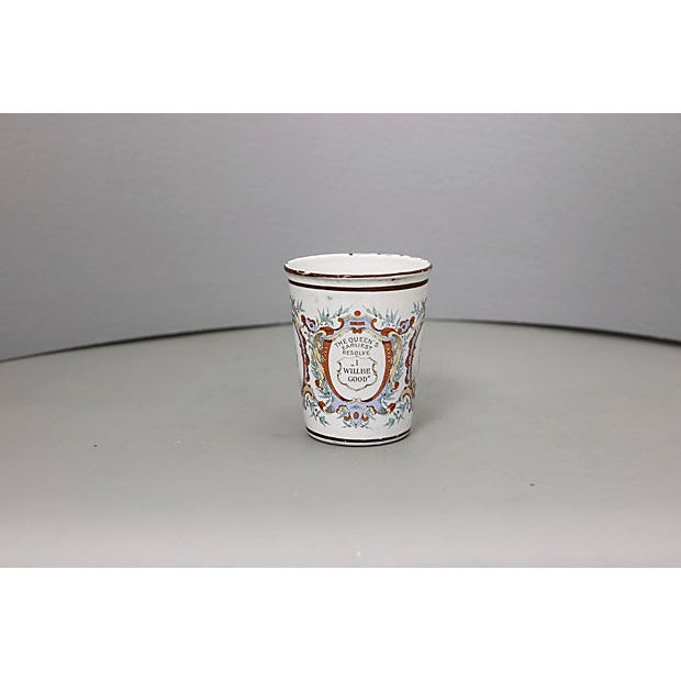 Late 19th Century 1897 Queen Victoria Enamel Beaker For Sale - Image 5 of 6