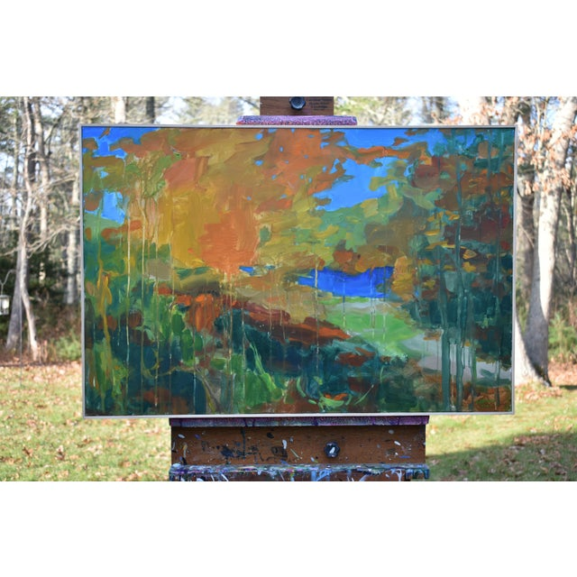 """Stephen Remick """"Path to the River"""" Painting For Sale - Image 9 of 11"""