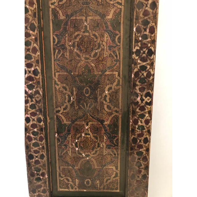 Moroccan Geometric Pattern Single Panel For Sale - Image 9 of 11