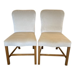Rose Tarlow Custom Chippendale Side Chairs - a Pair For Sale