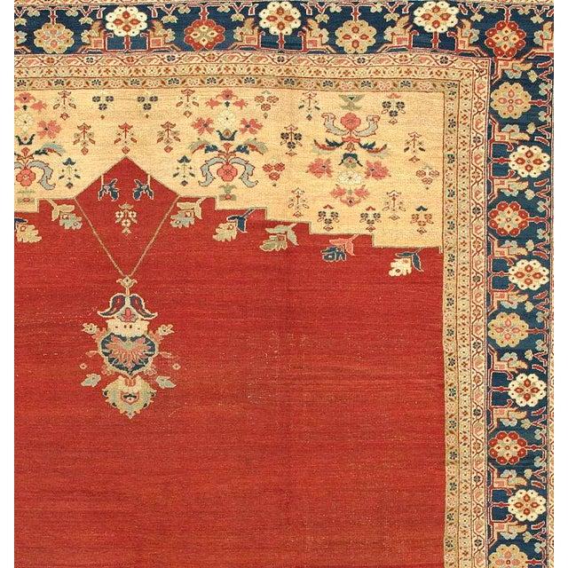 Islamic Ziegler Mahal Carpet For Sale - Image 3 of 4