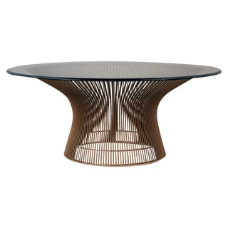 Warren Platner Original Bronze Coffee Table