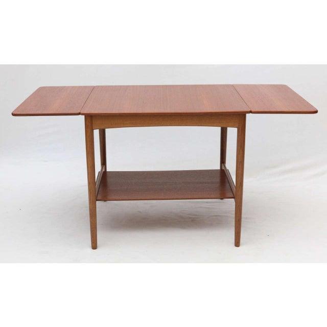 Hans Wegner Drop Leaf Side Table - Image 7 of 9