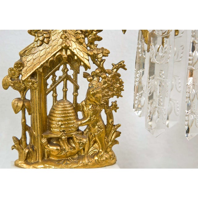French Belle Epoque Style Candelabras - Set of 3 For Sale In New York - Image 6 of 8