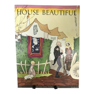 1920s House Beautiful Magazine Cover For Sale