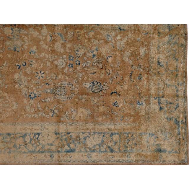 "Antique Persian Tabriz Rug - 9'5"" X 12'8"" - Image 4 of 5"