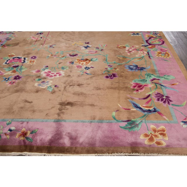 "Apadana Beige Chinese Art Deco Rug - 8'9"" X 11'6"" - Image 4 of 6"