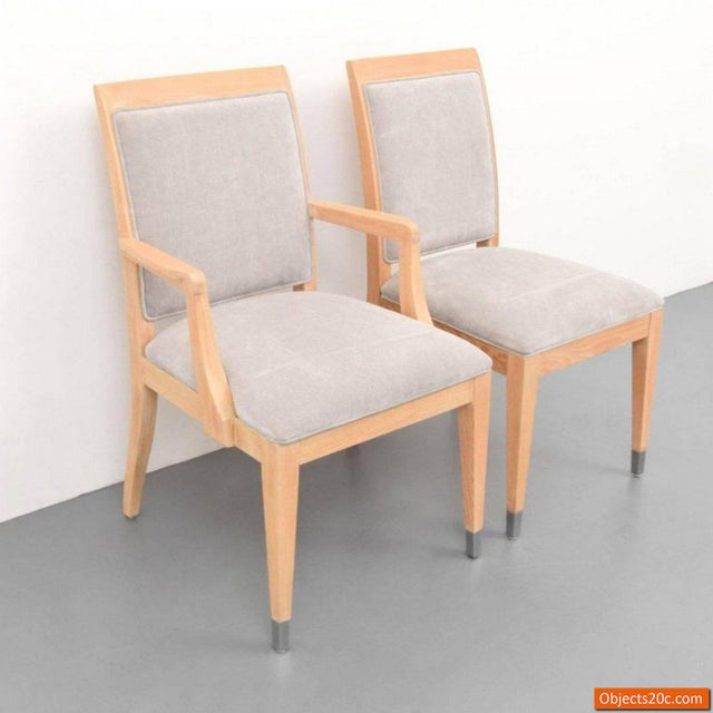 Century Furniture Jay Spectre for Century Mid-Century Modern Dining Chairs- Set of 8 For Sale - Image 4 of 10