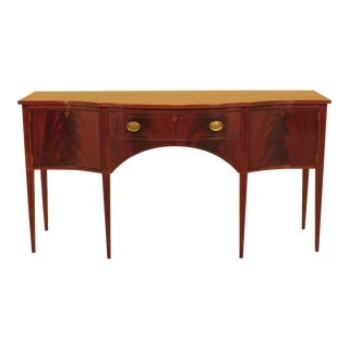 1960s Federal Biggs Inlaid Mahogany Sideboard For Sale