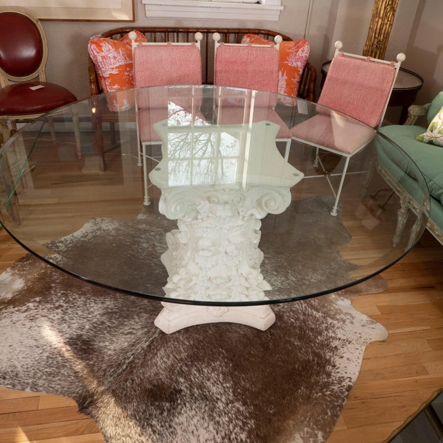 Late 20th Century Late 20th Century Round Dining Table For Sale - Image 5 of 8