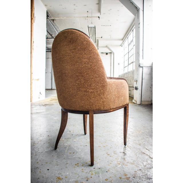 Anthony Morris Oak Arm Chair For Sale - Image 4 of 8