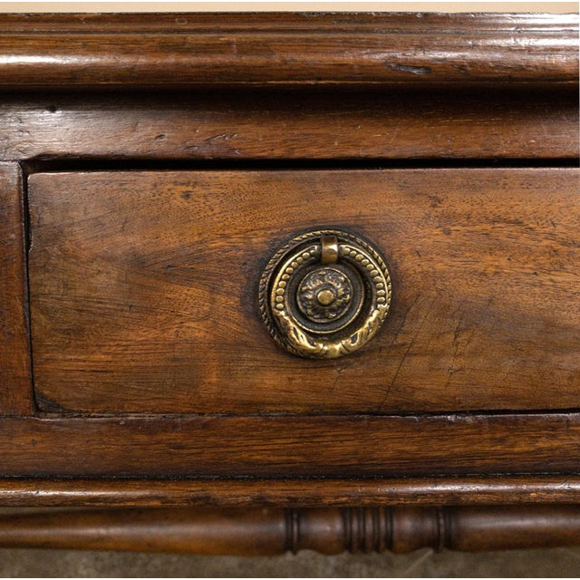 19th Century English Mahogany Leather Top Desk For Sale - Image 9 of 13