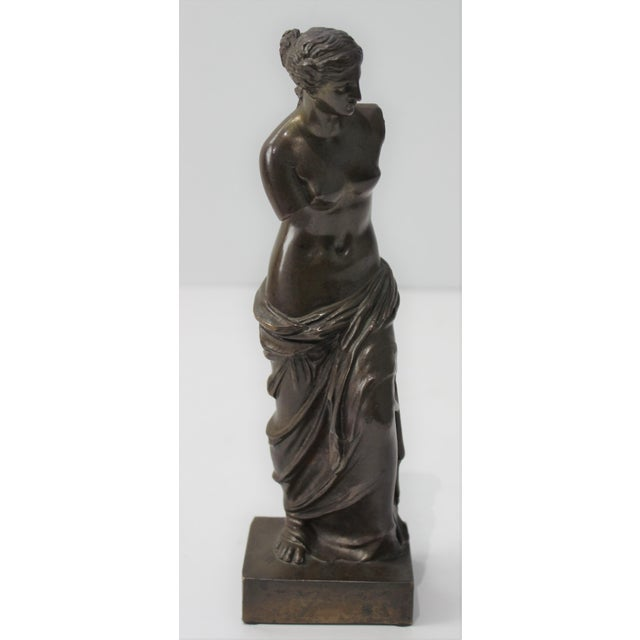 Antique Grand Tour Venus De Milo Bronze Figure For Sale - Image 4 of 13