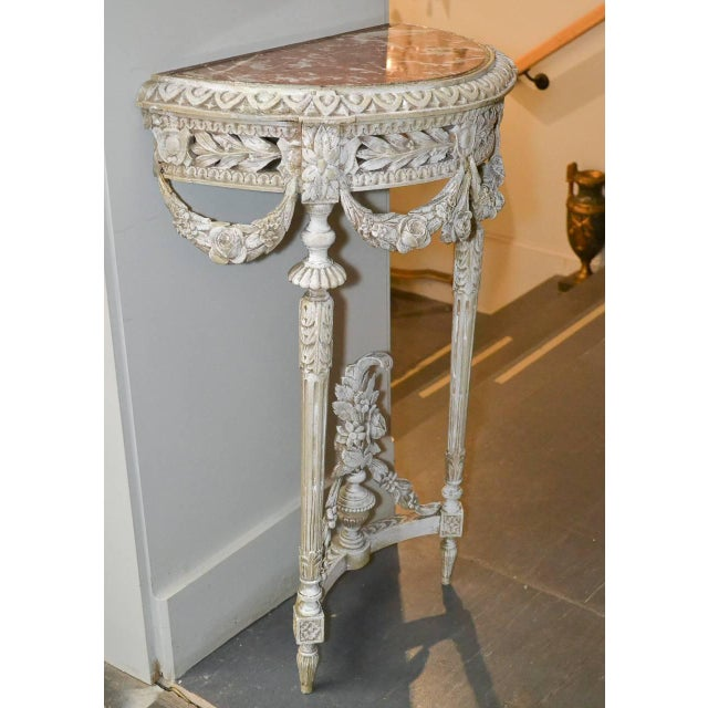 19th Century Pair of French Louis XVI Consoles For Sale In Dallas - Image 6 of 11