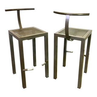 Vintage 80's Philippe Starck Sarapis Bar Stool by Driade Post Modern For Sale